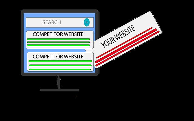 Competitor Website vs your website